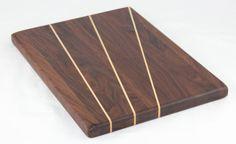Walnut & Hickory Butcher Block Cutting Board / by BlueMtnWoodworks, $100.00
