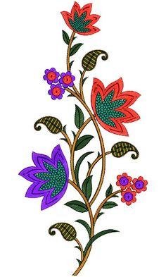 Kali Embroidery Design 12820