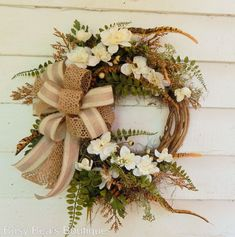 Classic Front Door Wreath Moonbeam Spring Wreath