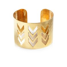 i am totally in LOVE with this cuff!!!!! only $28.00! www.turquoisetangerine.kitsylane.com check out the awesome savings! #cuff #kitsylane #boutique #gold