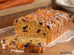 Carrot Cake Bread | EverydayDiabeticRecipes.com