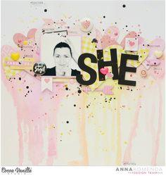 """Twin layouts """"She"""" and """"He""""   Anna Komneda – Cocoa Vanilla Studio"""