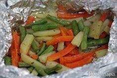PANELATERAPIA - Blog de Culinária, Gastronomia e Receitas: Papelote de Legumes