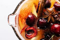 Whip up this easy sparkling sangria for your next dinner party. Light, refreshing and delicious.