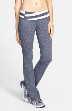 The yoga pants have never been to yoga.