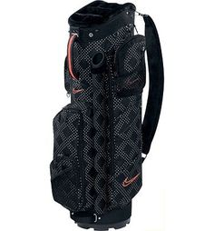 Fashionable golf bag.
