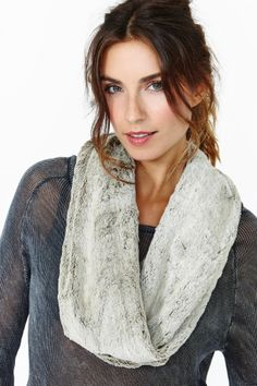 Soft Love Infinity Scarf