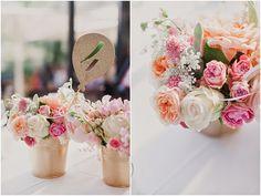 Wedding Deco, DIY Centros de mesa en colores pastel y Paris como temática 100% romántico
