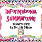 Get your students closely reading informational text, determining important facts, text structure, author's purpose and summarizing! Grades 3-8. $