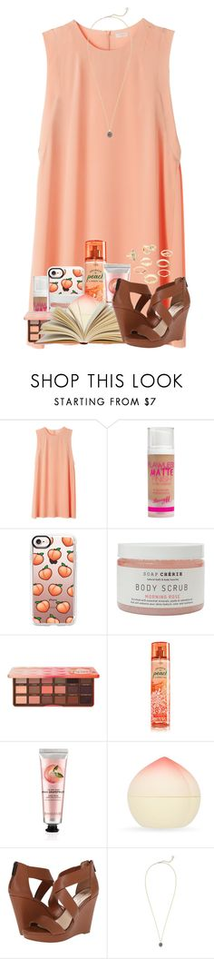 """""""I can do all things through Christ who strengthens me - Philippians 4:13"""" by cassieq6929 ❤ liked on Polyvore featuring Barry M, Casetify, Too Faced Cosmetics, The Body Shop, TONYMOLY, Jessica Simpson, Kendra Scott and Charlotte Russe"""