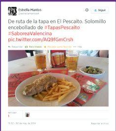 @Estrellamantos4 desde #TapasPescaito #SaboreaValencina