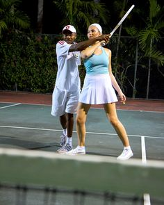 Out of the blistering sun, Tennis at night is way to have fun and keep cool Jamaica Resorts, Beach Resorts, Runaway Bay, Tennis Lessons, Paradise Cove, All Inclusive Vacations, Caribbean Sea, Resort Spa, Jewel