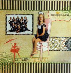 2012 dance scrapbook page 2