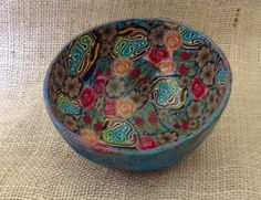 Polymer clay bowl   Flickr - Photo Sharing!