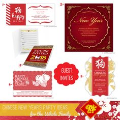 chinese new years party ideas for the whole family to enjoy