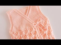 Crochet Bebe, Baby Knitting Patterns, Barbie, Sweaters, Fashion, Knitted Baby Clothes, Tricot, Crochet Dresses, Crochet Flowers
