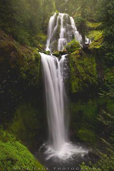 Waterfall in Washington state