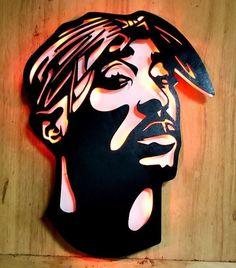 Tupac Shakur Wall Art 2pac Poster Canvas Artwork Paint