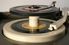 View from the Birdhouse: Throwback Thursday - 45's with stacker