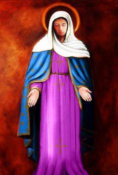 GRUPO DE ORAÇÃO LAGRIMAS DE SANGUE: Nossa Senhora das Lágrimas a Irmã Amália- Significado da Imagem -Os meus Olhos inclinados