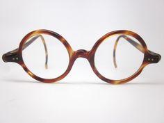 Vintage round tortoise shell glasses