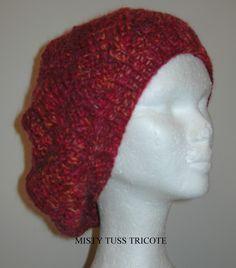 """Bonnet entrelacs """"MAYA"""" tricoté à la main : Chapeau, bonnet par misty-tuss-tricote"""