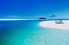 Whitsundays, Australia.. I would go back in a heart beat!