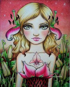 #inklings #tanyabond #inklings2 #lys #lysflowers  #pastels #coloringpencils…