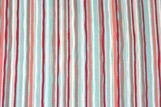 Hoot Stripe Coral fabric from the Nested Owls Coral by OlieandEvie, $10.00