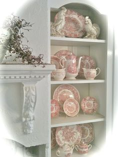 FRENCH COUNTRY COTTAGE: VINTAGE CUPBOARDS