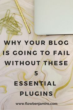 Wordpress Plugins Are Vital And Important. Come Learn The Eseential Five You Need Today! #flowbenjamins #wordpress #plugins #bloggingtips #makemoneyblogging