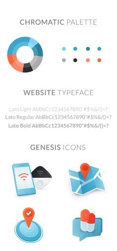 Geneis Website on Behance