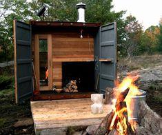 Sauna Box   DudeIWantThat.com