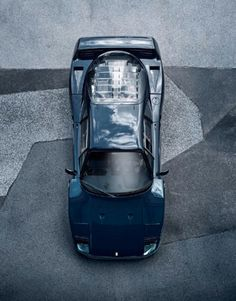 rhubarbes: Ferrari F40 for ramp magazine on Behance by Bernd...