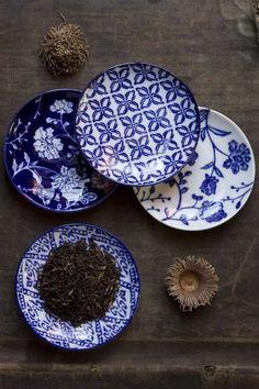 Mothology.com - Handpainted Blue Appetizer Dishes, $25.00 (http://www.mothology.com/handpainted-blue-appetizer-dishes/)