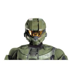 Great item for any cosplayer or Halo fan who can either wear it or use it as decoration in their home. This is a full adult sized Master Chief Helmet designed after Master Chief from the halo franchise. A perfect edition to any Master Chief ensemble. Ideal for Halloween.