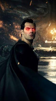 Superman Black Suit, Evil Superman, Superman Man Of Steel, Superman Pictures, Superman Artwork, Superman Wallpaper, Zack Snyder Justice League, Dc Trinity, Dc Characters