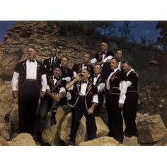 Yodeling Club Wearing Traditional Clothing