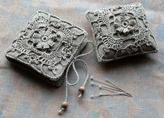 pincushion & needle book by namolio, via Flickr