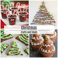 Are you looking for some cute crafts and treats for the kids to make during this holiday season? Look no further! Today I am sharing a lot ofChristmas Crafts and Treatsthat are great for gifts, decor and to keep the kids busy over Christmas Break.