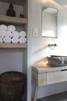 10 BEAUTIFUL BATHROOM SINKS MADE OF STONE | the style files