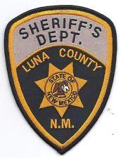 LUNA COUNTY NEW MEXICO SHERIFF'S PATCH