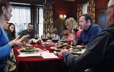 Another of the Reagan dining room from Blue Bloods