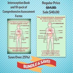 Interoception Book and 10-Pack Assessment Forms Bundle 9470