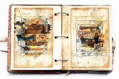 Journal 21 - feel free again by finnabair, via Flickr