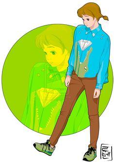 Faz tempo que não apareço por aqui com os posts da Disney, né? Tô sem tempo ultimamente (faculdade + 1º emprego!), mas com saudades da seção mais linda daqui, hihi!Quandoencontrei o Hyung86 e suas ilustras tive que vir compartilhar! A série de desenhoschamadaDisney Universitymostra os personagens mais moderninhos. O tema já tá batido, personagens com roupas mais jovens, com looks descolados, mas a arte é tão linda que parece oficial,...