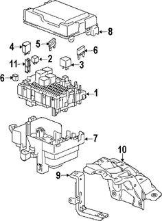 Suzuki XL7 07-09 OEM  Electrical Fuse Box Cover Lid 3673878J00  #Suzuki