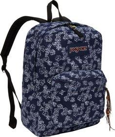 JanSport High Stakes Backpack Itsy Ditsy Denim - via eBags.com!