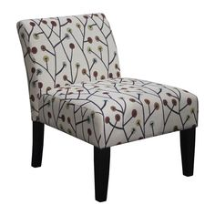 Our armless accent chair, perfect for any room and looks great in pairs. With free shipping on all orders!   #freeshipping #accentchairs #furniture #ecom
