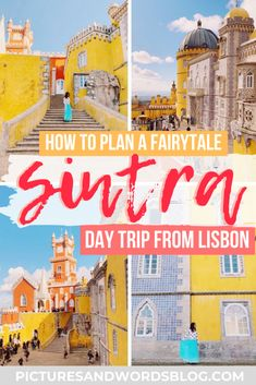 A day trip to the fairytale town of Sintra is a must on any Portugal trip! Here is everything you need to know about spending the perfect one day in Sintra, including the perfect Sintra itinerary, and tips on how to get from Lisbon to Sintra. Portugal Trip, Portugal Travel Guide, Visit Portugal, Europe Travel Guide, Spain And Portugal, Travel Guides, Travel Deals, Travel Abroad, Travel Hacks